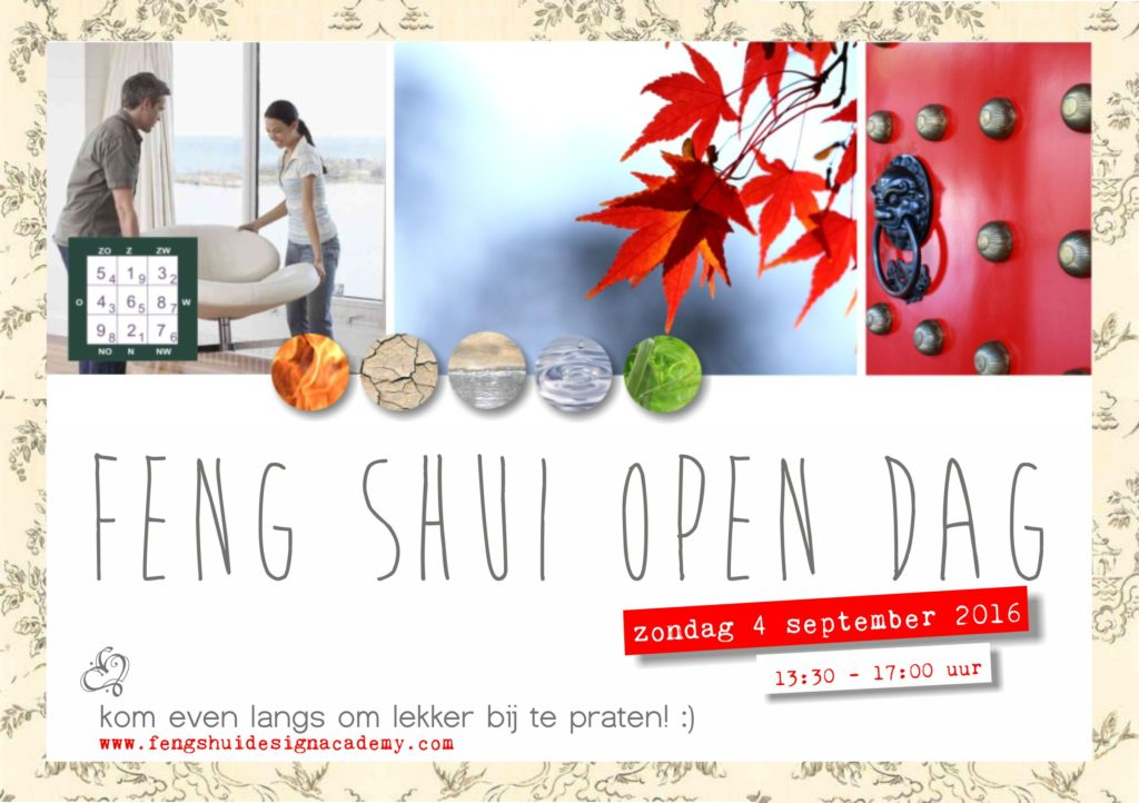 Feng Shui Open Dag bij Feng Shui Design Academy in Culemborg