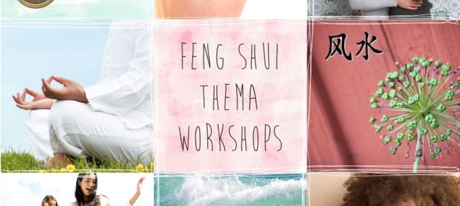 NIEUW! FENG SHUI THEMAWORKSHOPS