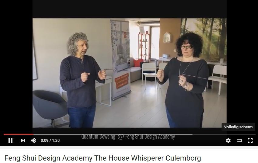 Wichelroede lopen quantum dowsing Feng Shui Design Academy