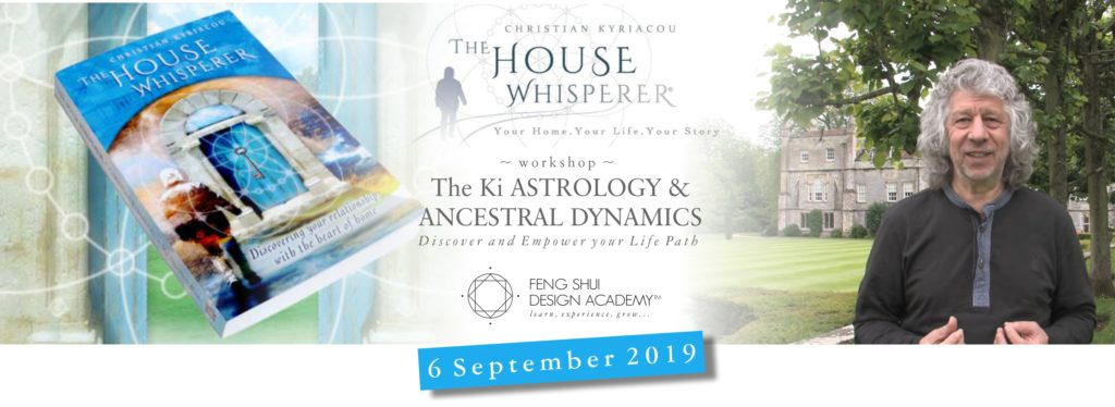 THE KI ASTROLOGY and ANCESTRAL DYNAMICS workshop with Christian Kyriacou The House Whisperer 2