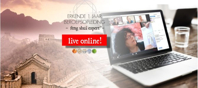 NIEUW! Live online Feng Shui opleiding